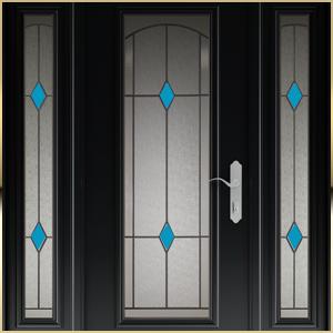 beaux vitraux portes